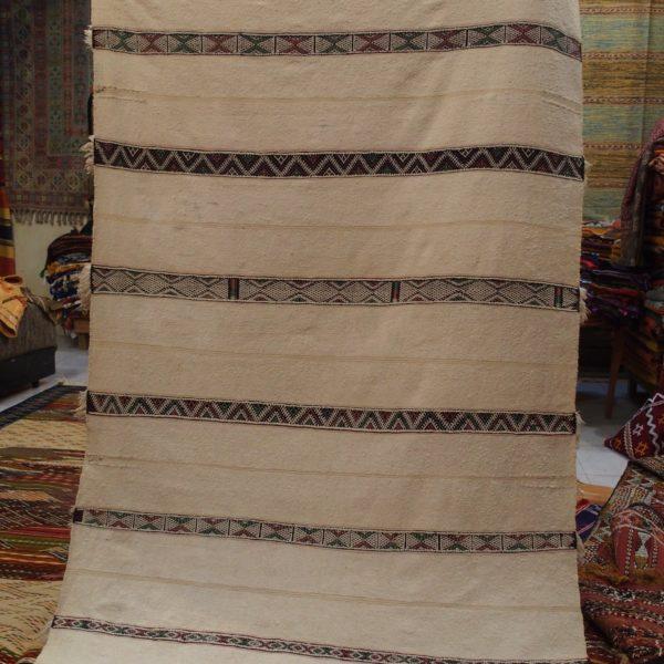 Tappeto berbero antico, bianco