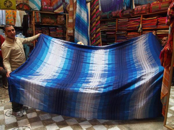 Copriletto marocchino in agave - shop online tessuti del Marocco