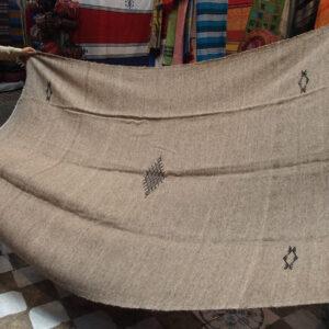 Copriletto di lana di montone - Tessuti marocchini - vendita online