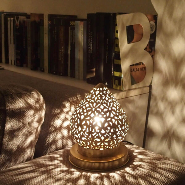 Lampada artigianale del Marocco - Shop on line prodotti del Marocco - Modello Calder