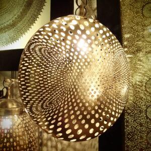 Lampada artigianale marocchina Delaunay - Luci del Marocco shop online
