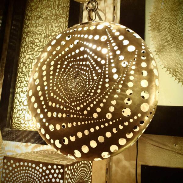 Lampada artigianale marocchina Mondrian - Luci del Marocco shop online