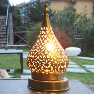 Lampada artigianale marocchina Tanguy - Luci del Marocco shop online