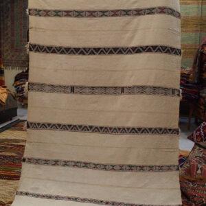 Tappeto berbero bianco antico - Luci del Marocco shop